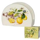 Салфетница керамическая Лимон SNT