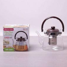 Заварочный чайник с ситом на 1000 мл Kamille