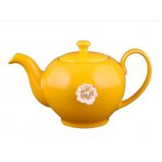 Заварочный чайник оранжевый на 600мл Е-декор