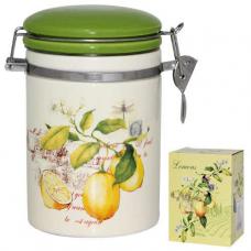 Ёмкость для сыпучих продуктов, 1,2л, 'Лимон' SNT