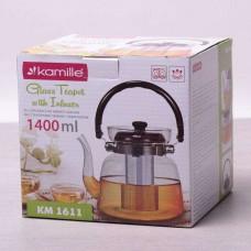Заварочный чайник с ситом на 1400 мл Kamille