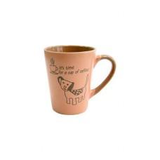 Кружка 320мл Coffe Dog Pink Milika