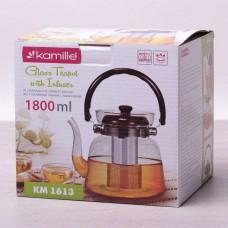 Заварочный чайник с ситом на 1800 мл Kamille