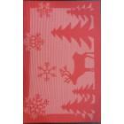 Салфетка под горячее 30X45 см красного цвета Empire