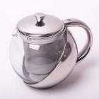 Заварочный чайник с металлическим дном на 500 мл Kamille